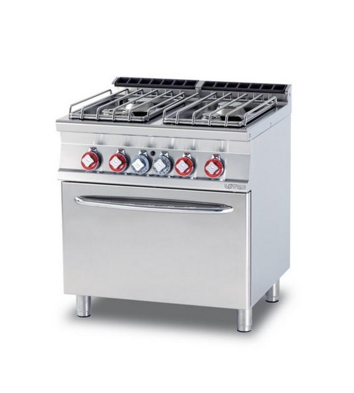Cucina a gas professionale AFP/ CF4-78GP