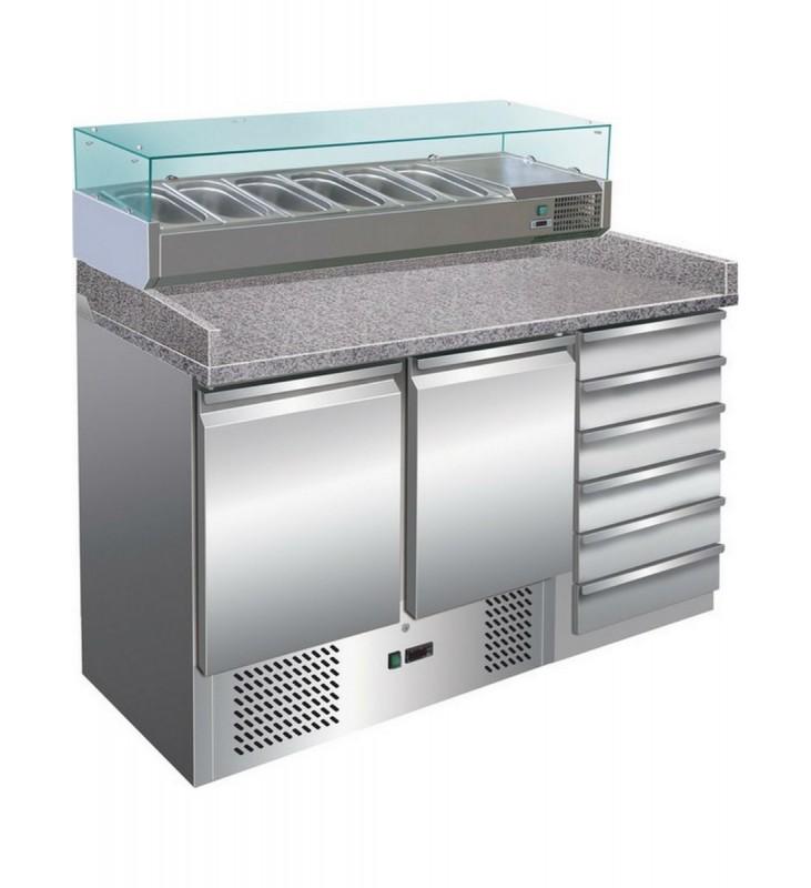 Banco frigo pizzeria AFP/S903PZ CAS