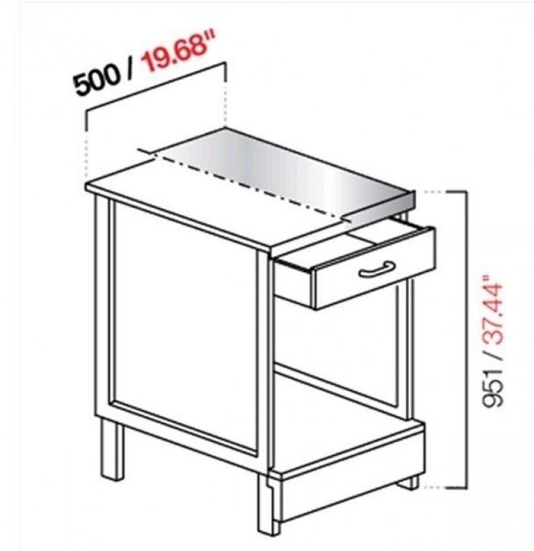 Banco cassa CX/84L50 B