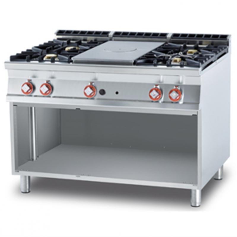 Cucina a gas professionale AFP/ TP4-912G