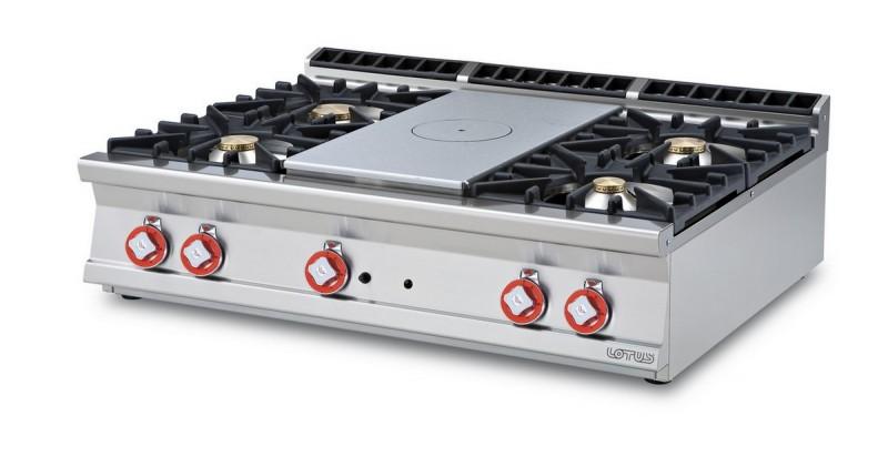 Cucina a gas professionale AFP/ TP4T-912G