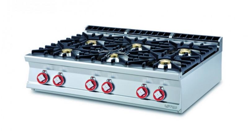 Cucina a gas professionale AFP/ PCT-912G
