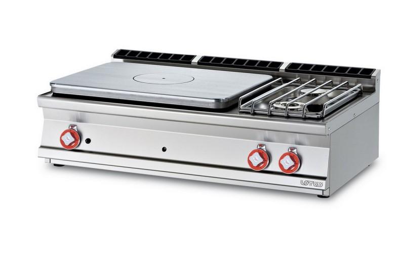 Cucina a gas professionale AFP/ TP2T-712GP