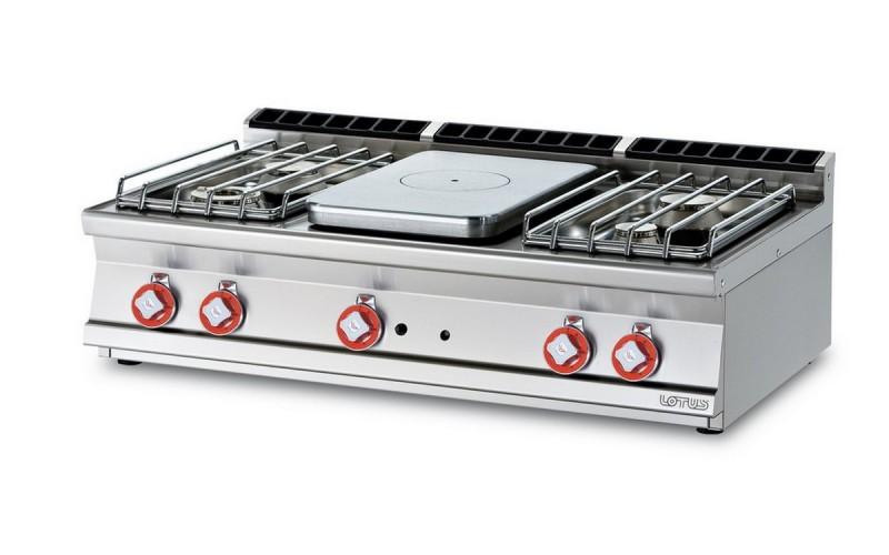 Cucina a gas professionale AFP/ TP4T-712GP