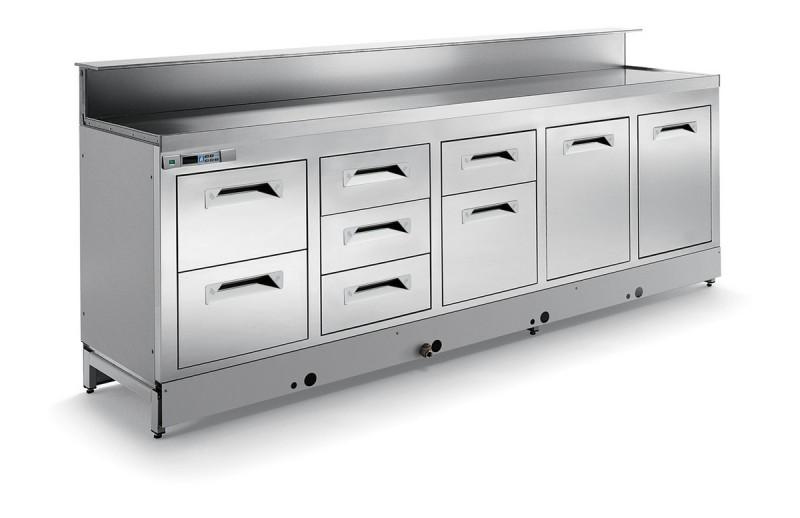 Banco bar refrigerato BBAR45CB7V