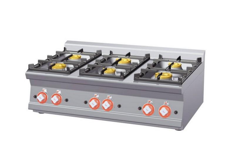 Cucina a gas professionale AFP/ PCT-610G