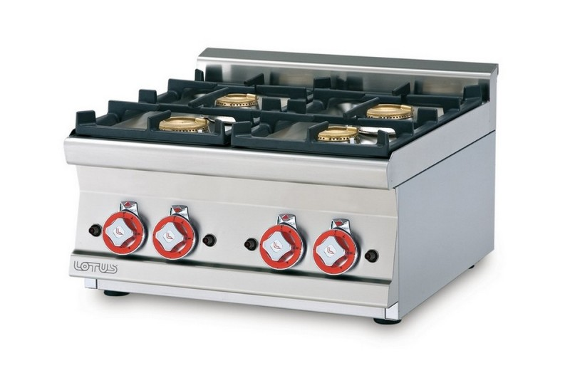 Cucina a gas professionale AFP/ PCT-66G