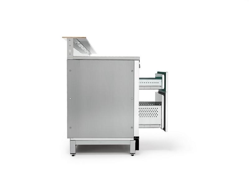 Banco bar refrigerato BBAR35CB6V