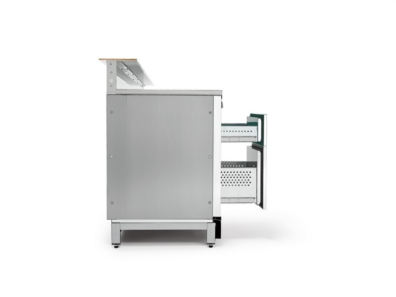 Banco bar refrigerato BBAR45CB8V