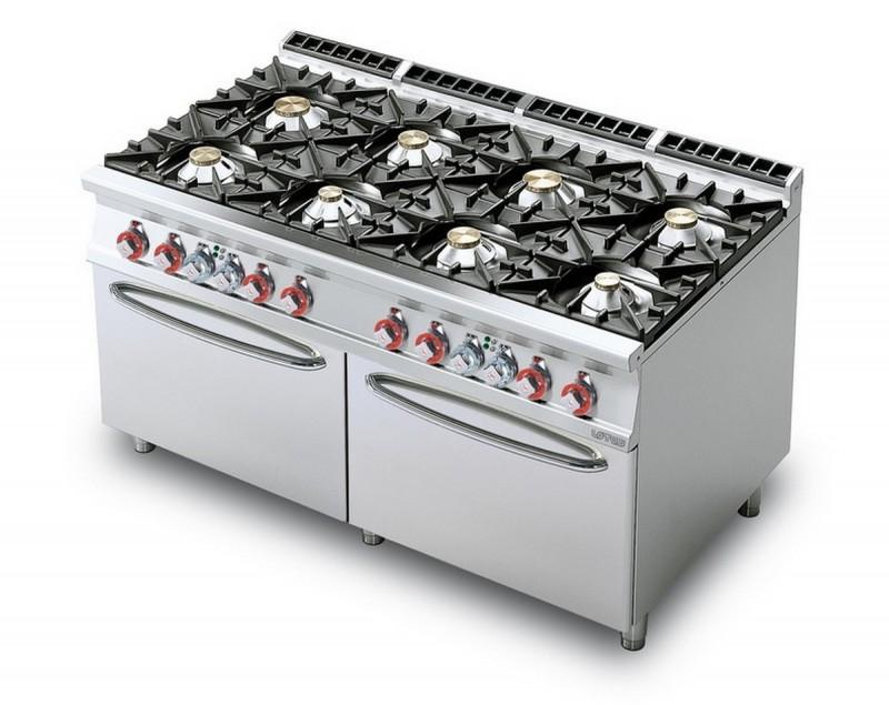 Cucina a gas professionale AFP/ CF8-916G