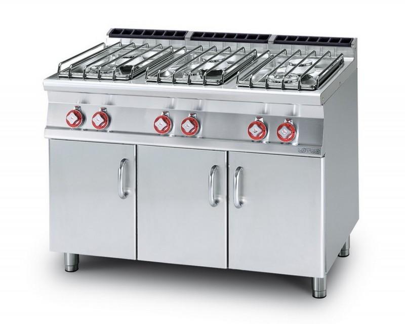 Cucina a gas professionale AFP/ PC-716GP