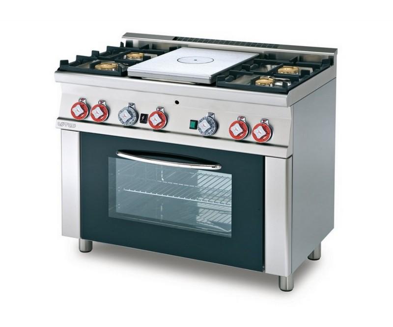 Cucina a gas professionale AFP/ TPF4-610G
