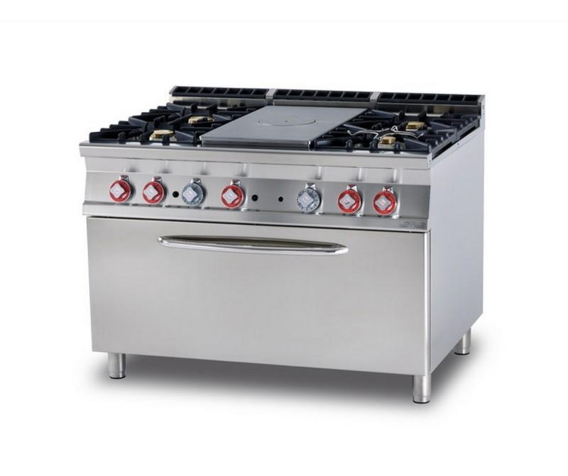 Cucina a gas professionale AFP/ TPF4-912GE