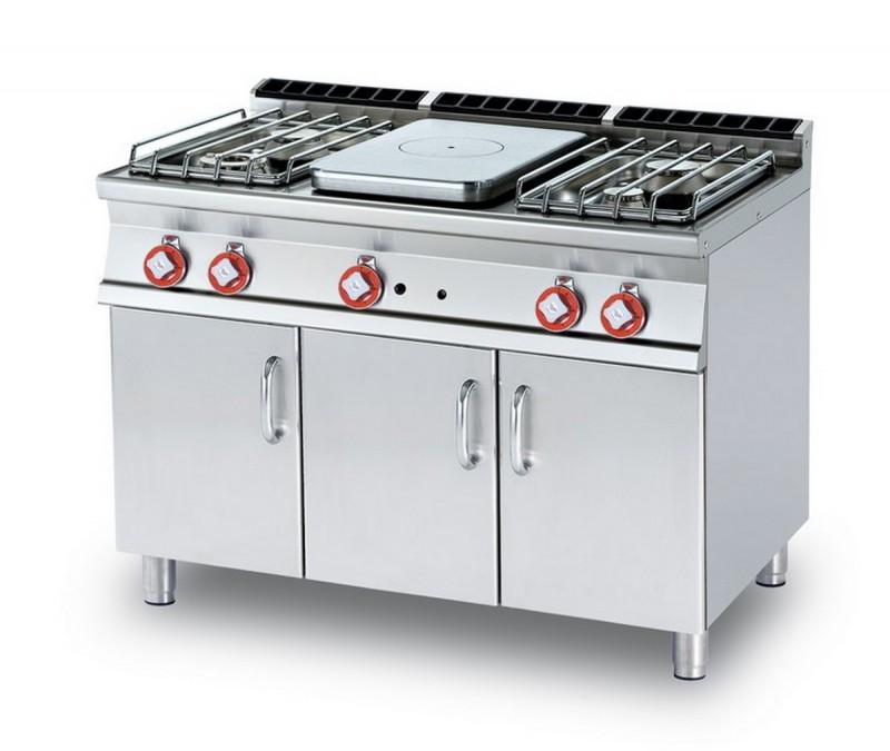 Cucina a gas professionale AFP/ TP4-712GP
