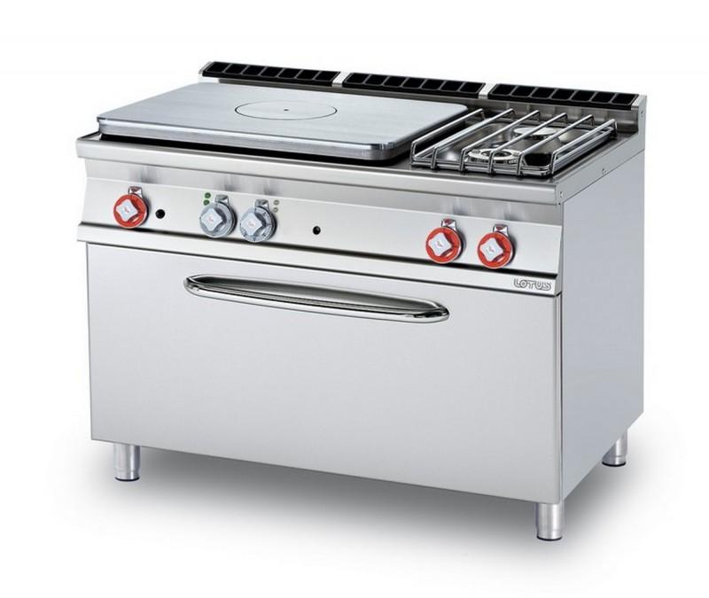 Cucina a gas professionale AFP/TPF2-712GPE