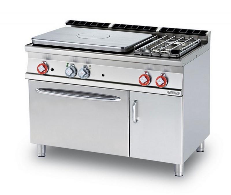 Cucina a gas professionale AFP/ TPF2-712GPEV