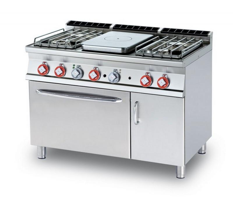 Cucina a gas professionale AFP/ TPF4-712GPEV