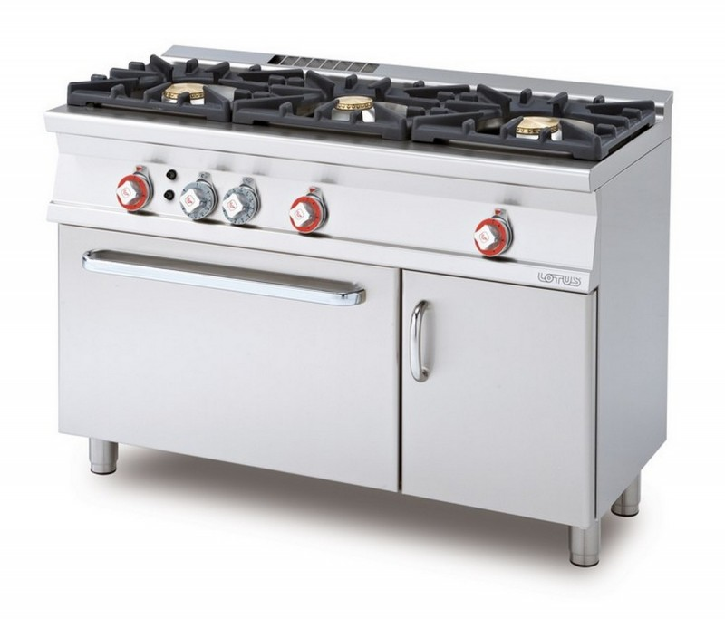 Cucina a gas professionale AFP/ CF3-512GV