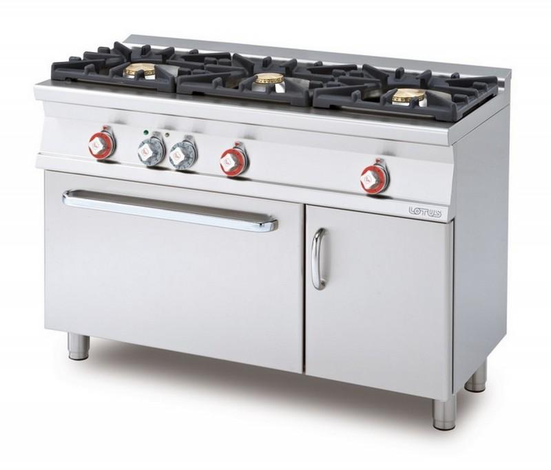 Cucina a gas professionale AFP/ CF3-512GEV