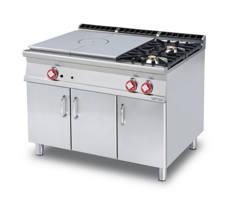 Cucina a gas professionale AFP/ TP2-912G