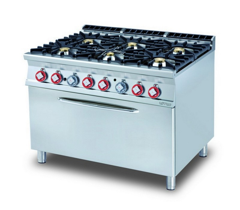Cucina a gas professionale AFP/ CF6-912G