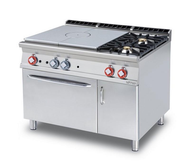 Cucina a gas professionale AFP/TPF2-912GEV