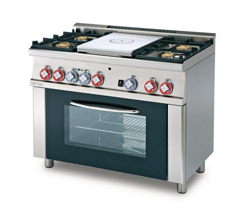 Cucina a gas professionale AFP/ TPF4-610GEM