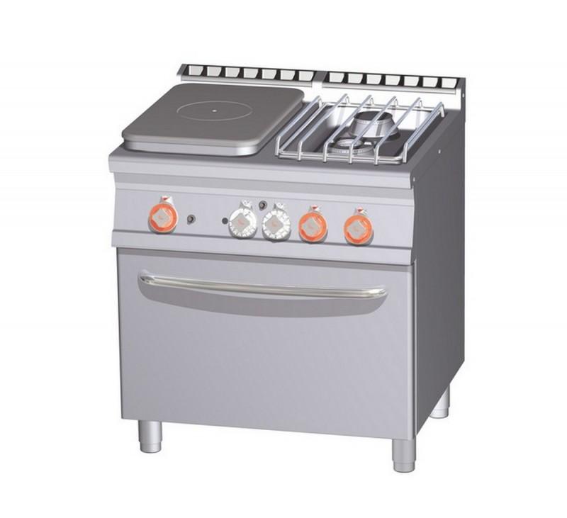 Cucina a gas professionale AFP/ TPF2-78GPE