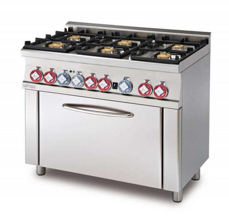 Cucina a gas professionale AFP/ CF6-610G