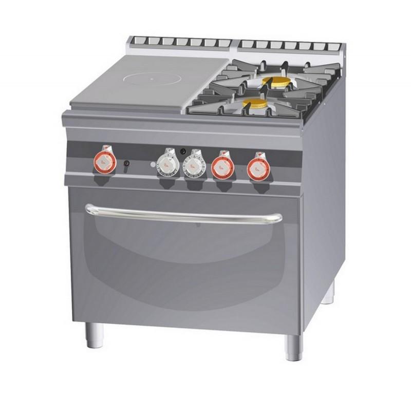 Cucina a gas professionale AFP/ TPF2-98G