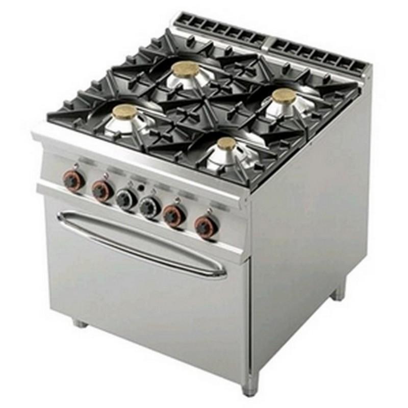 Cucina a gas professionale AFP/ CF4-98GE