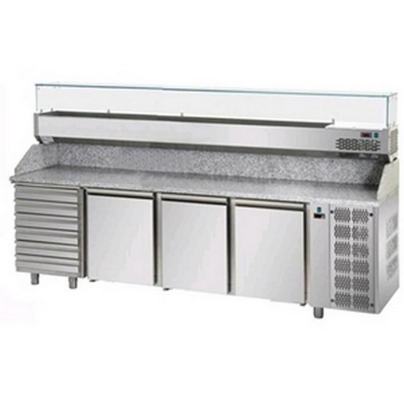 Banco frigo pizzeria AFP/PZ04EKOC6/VR4240VD