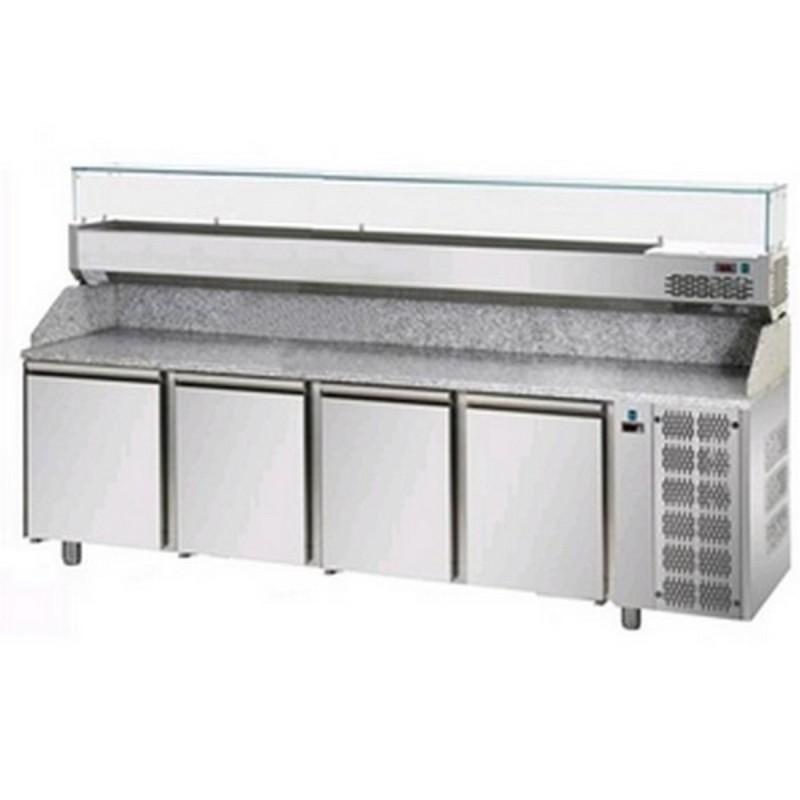 Banco frigo pizzeria AFP/PZ04MID80/VR4270VD