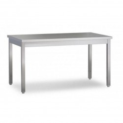 Tavolo inox da lavoro semplice