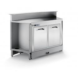 Banco bar refrigerato statico BBL1000AB