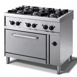 Cucina a gas professionale AFP/ EM76GGYF