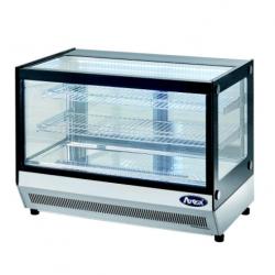 Espositore da banco vetrina refrigerata snack in acciaio inox AFP/L021FTW ERAUQS