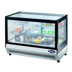 Espositore da banco vetrina refrigerata snack in acciaio inox AFP/L061FTW ERAUQS