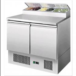 Saladette in acciaio inox e tavolo refrigerato AFP/RG2383LSE
