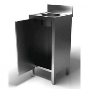 Lavello acciaio inox AISI AFP/AL4 con anta battente