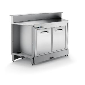 Banco bar refrigerato statico BBL1500AB