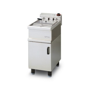 Friggitrice elettrica professionale   AFP/ FME-10 mobile con porta