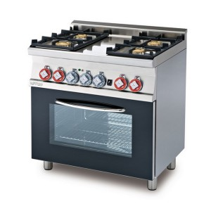 Cucina a gas professionale AFP/ CF4-68GEM