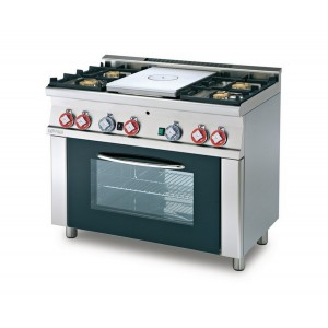 Cucina a gas professionale AFP/ TPF4-610G