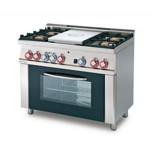 Cucina a gas professionale AFP/ TPFM4-610GEM