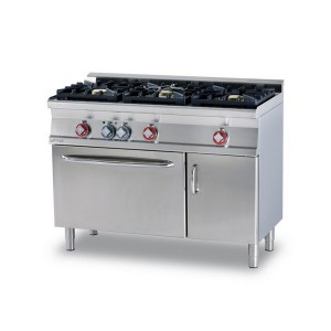 Cucina a gas professionale AFP/ CF3-612GEMV