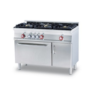 Cucina a gas professionale AFP/ CFM3-612GEMV