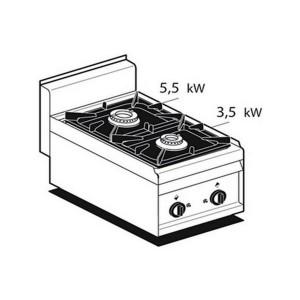 Cucina a gas professionale AFP/ PC-4G