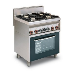 Cucina a gas professionale AFP/ CF4-8GEMS