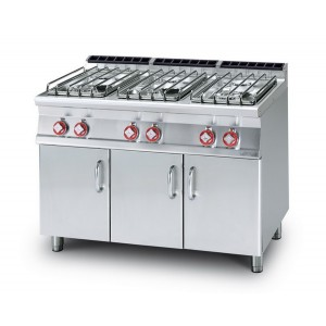 Cucina a gas professionale AFP/ PC-716GP